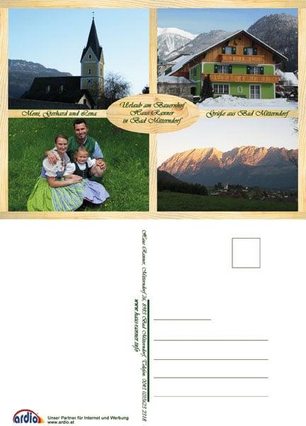 Postkarten Haus Ranner Bad Mitterndorf